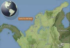 世界上最拥挤的岛屿Santa Cruz delIslo