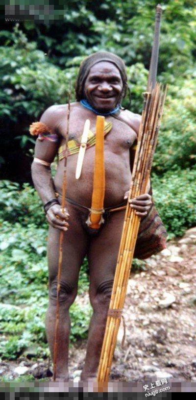 世上生殖器最大民族-非洲象人族真实照片?
