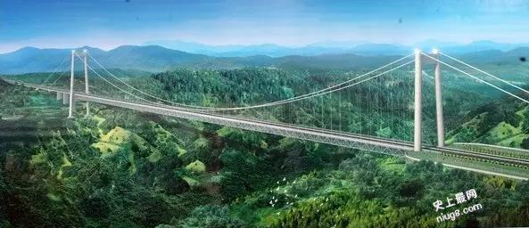 中国十大著名路桥有哪些?世界第一高桥北盘江大桥高565米等于200层楼