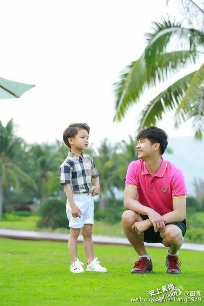 《爸爸去哪儿》田亮带女儿田雨橙(Cindy)儿子小亮仔再战第四季