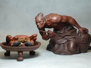 谁是世界上第一个吃螃蟹的人?