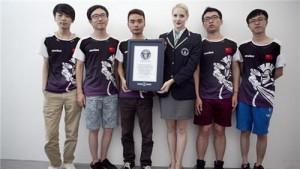 世界最高电子竞技赛奖金人民币3,1