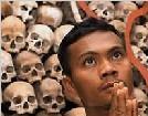 恐怖的柬埔寨红色高棉屠杀人场(图)