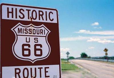 66号公路全长2450英里,美国的母亲路