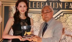 香港27岁女星何傲儿与80岁富商林建名传爷孙恋