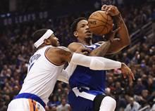 NBA》迪罗萨火力超强 前9战8场30+媲美乔丹